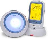 Alecto DBX-62 Digitale babyfoon met projector| Bereik tot 1 kilometer (!) en 100% storingsvrije verbinding | Wit / Blauw