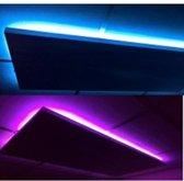 Infrarood stralingspanelen GLD incl-LED-60x60cm-300W, Winkel verwarming, Kantoor verwarming