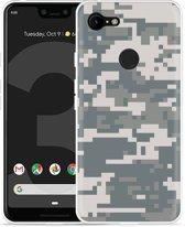 Google Pixel 3 Hoesje Army Digi Camouflage