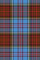 Clan Anderson Tartan 100 Page Lined Journal/Notebook