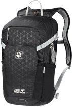 Jack Wolfskin Alleycat 18 Pack Backpack - Unisex - Black Grid - ONE SIZE