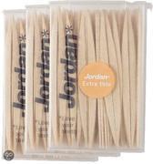 Afbeelding van Jordan Extra dun - 3x 140 st - Tandenstoker - Voordeelverpakking