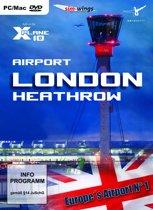 Airport London-Heathrow (FS X + X-Plane 10 Add-On) (DVD-Rom) - Windows