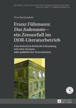 Franz Fuehmann: 'Das Judenauto' – ein Zensurfall im DDR-Literaturbetrieb