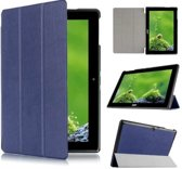 Acer Iconia Tab 10 A3-A30 Tri-Fold Book Case Donker Blauw
