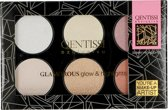 Qentissi Highlight Palette Glow Colors 28 g