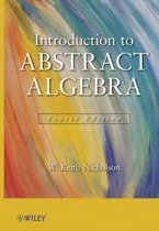 Introduction to Abstract Algebra, 4e Set