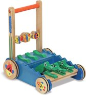 Melissa & Doug - Houten Alligator Loopauto