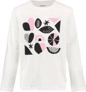 Noppies Shirt Pinole - Blanc de Blanc - Maat 110