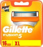 Gillette Fusion Scheermesjes - 16 stuks