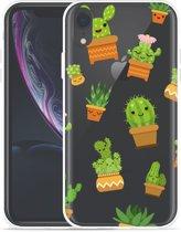 Apple iPhone Xr Hoesje Happy Cactus