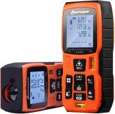 Laser afstandmeter - digitale afstandmeter - waterpas - Meet tot 60 meter - multifunctioneel Digitaal meetapparaat - incl. batterij
