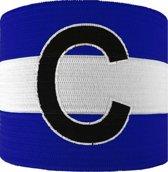 Sportec Aanvoerdersband Captain Junior Blauw