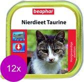 Beaphar Nierdieet - Taurine - Kattenvoer - 12 x 300 g