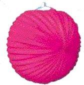 Lampion fuchsia roze 24 cm