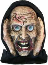 Haza Original Raamdecoratie Scary Peeper 40 Cm Lenticular Eyed Zombie