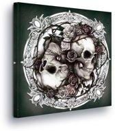 Gothic Canvas Print 80cm x 80cm