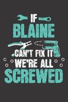 If BLAINE Can't Fix It