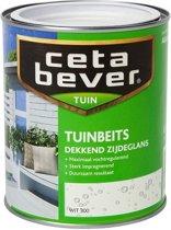 Cetabever Dekkende Tuinbeits - 0,75 liter - Wit