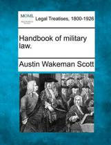 Handbook of Military Law.