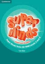 Super Minds American English Levels 3-4 Tests Cd-Rom