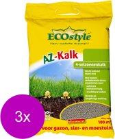 Ecostyle Az-Kalk 100 m2 - Kalk - 3 x 10 kg