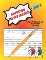 Handwriting Practice Notebook