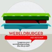 Wereldburger met ketchup