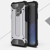Samsung Galaxy S9 Armor Hybrid Case - Zilver