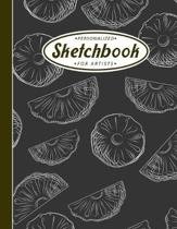 Personalized Sketchbook For Artists: A Large Blank Pages Notebook for Sketching, Drawing, Painting and Creative Doodling - Perfect Gift for Artists.