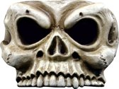 Halfmasker van een skelet voor volwassenen (Halloween) - Verkleedmasker