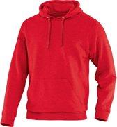 Jako Team Sweater met Kap - Sweaters  - rood - L