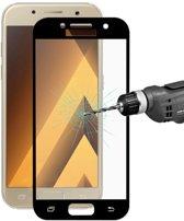 Full Cover Tempered Glass Samsung A3 (2017) - Zwart