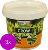 Topbuxus Grow - Siertuinmeststoffen - 3 x 10 m2 500 g