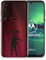 Motorola Moto G8 Plus Telefoonhoesje met Naam Floss