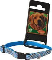 Halsband Nylon/Pvc Halsband Verstelbaar Called Blauw 8 Mmx15-25 Cm