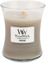 woodwick medium candle fireside