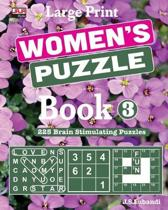 Large Print WOMEN'S PUZZLE Book 3