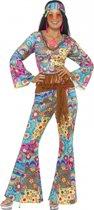 Gekleurde flower power kleding 36-38 (s)