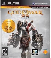 GOD OF WAR SAGA PS3 (1 +2 + 3+ ORIGINS I + II) - 5 volledige games