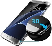 Samsung Galaxy S7 EDGE - Full Coverage Glass Screenprotector Tempered Glass Ultradun, Gehard Glas | Beschermhardheid 9H | Anti Shattered Film coating | Ultra HD Lightscreen | Kristalheldere weergave - Full Coverage glass screen