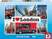 Schmidt puzzel I love London 1000 stukjes