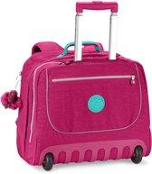 Kipling Clas Dallin Rugzak op wielen flamboyant pink