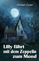 Lilly fährt mit dem Zeppelin zum Mond