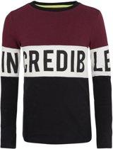 Retour Jeans Jongens T-shirt - Bordeaux - Maat 146/152