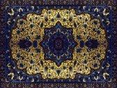 Vinyl Vloerkleed   Persia Blauw   140x195cm