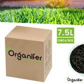 Organifer Gazon En Gras Booster Mestkorrels 3in1 (5Kg)