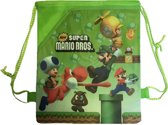 New Super Mario Gymtas / Rugzak (groen)