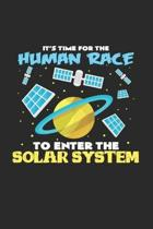 Solar system: 6x9 Renewable Energyl - grid - squared paper - notebook - notes