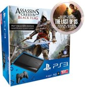 Sony PlayStation 3 Console Assassins Creed Super Slim - 500GB - Zwart - PS3